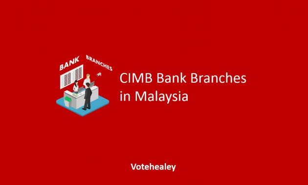 CIMB Bank Branches in Malaysia