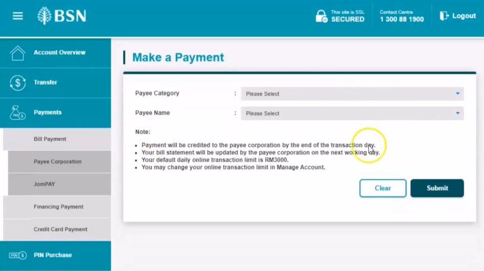 How To Pay via AEON