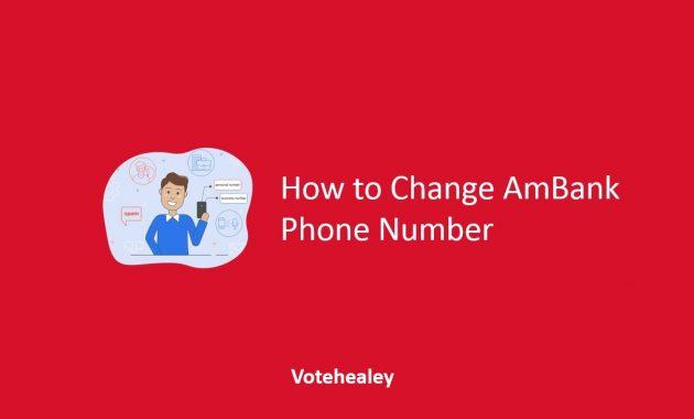 How to Change AmBank Phone Number