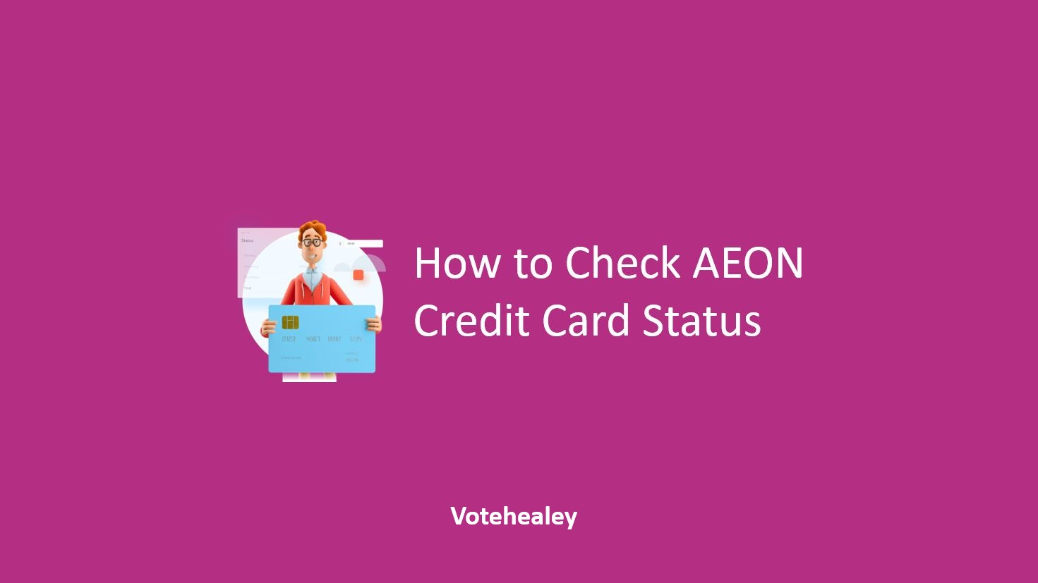 How to Check AEON Credit Card Status