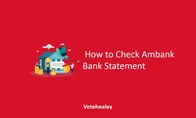 How to Check AmBank Bank Statement