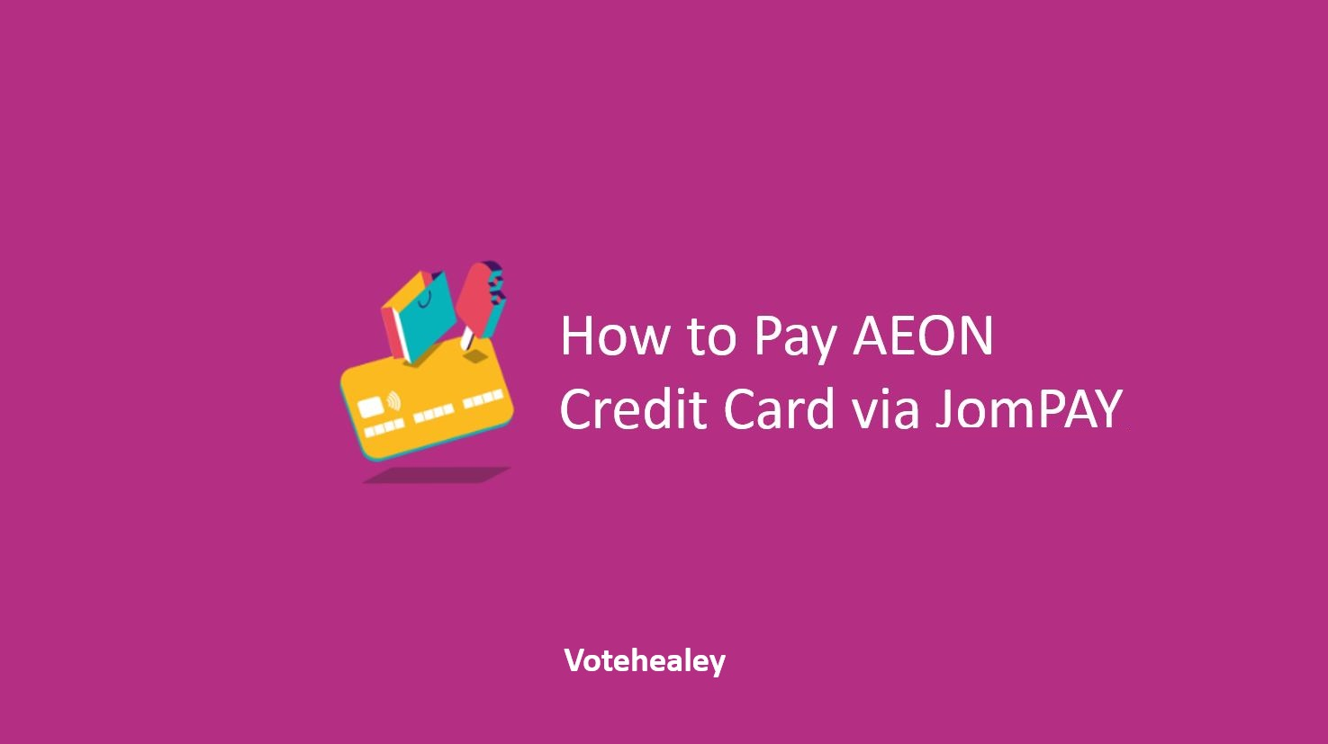 How to Pay AEON Credit Card via JomPAY