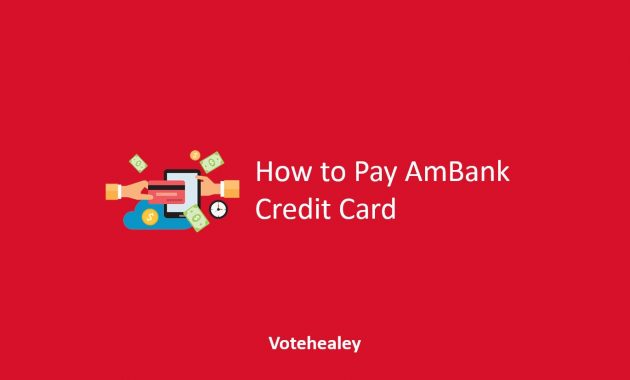 How to Pay AmBank Credit Card