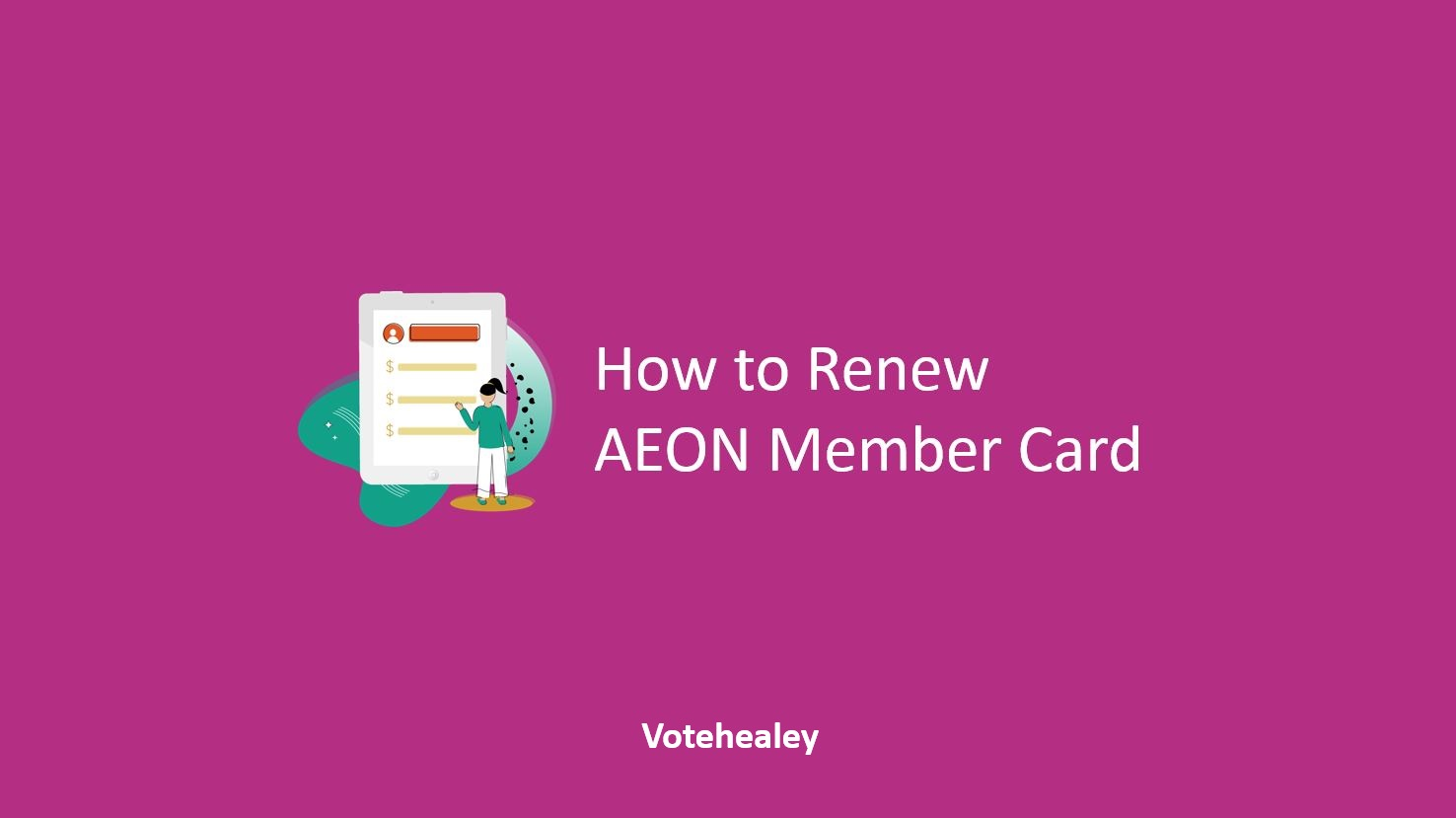 How to Renew AEON Member Card