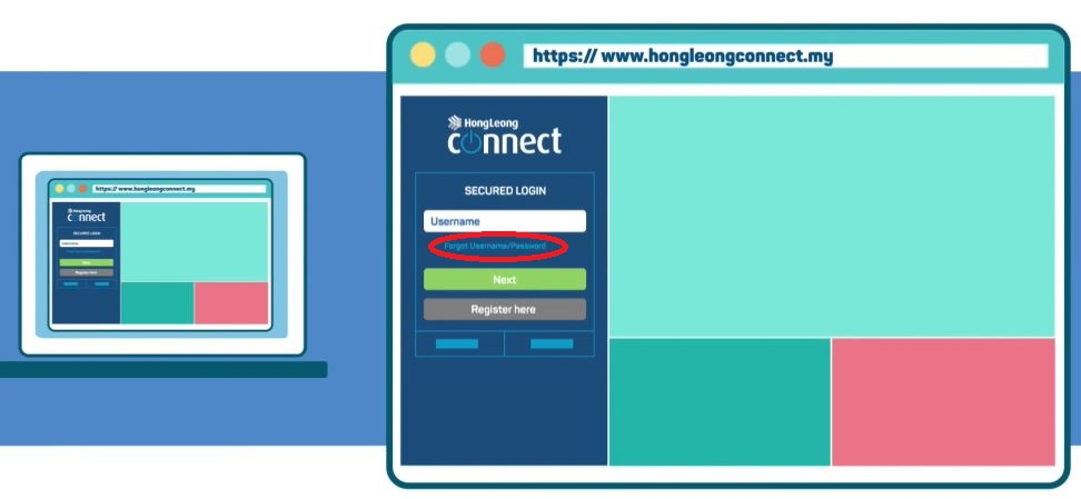 How to Reset Password Hong Leong Bank Connect via Online Banking