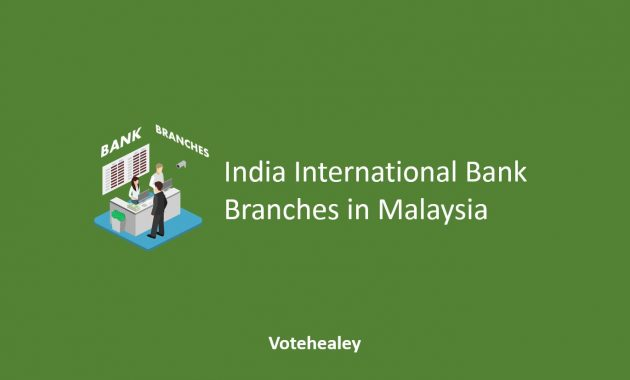 India International Bank Branches in Malaysia