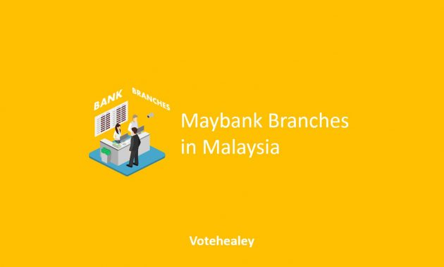 Maybank Branches in Malaysia