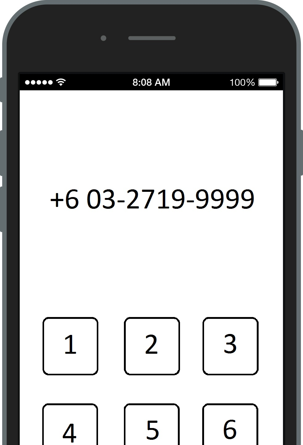 Checking AEON Agreement Number via Phone Dial
