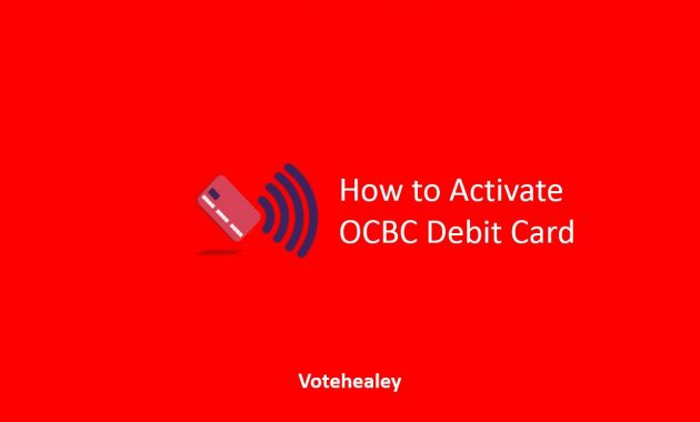 How to Activate OCBC Debit Card