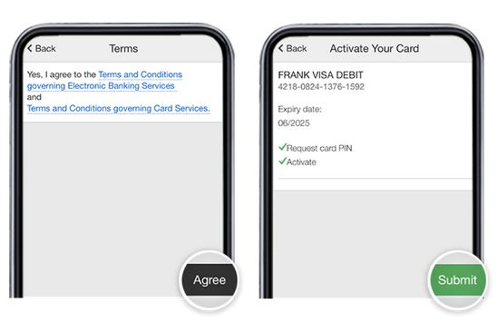 How to Activate OCBC Debit Card using Mobile Banking