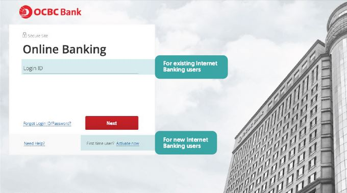 How to Activate OCBC Debit Card via Online Banking