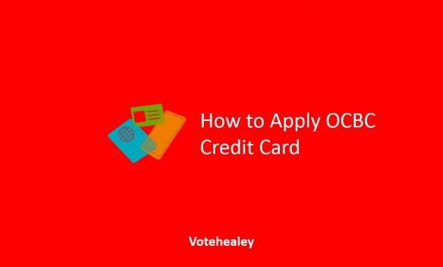 How to Apply OCBC Credit Card