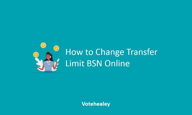 How to Change Transfer Limit BSN Online