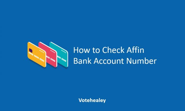 How to Check Affin Bank Account Number