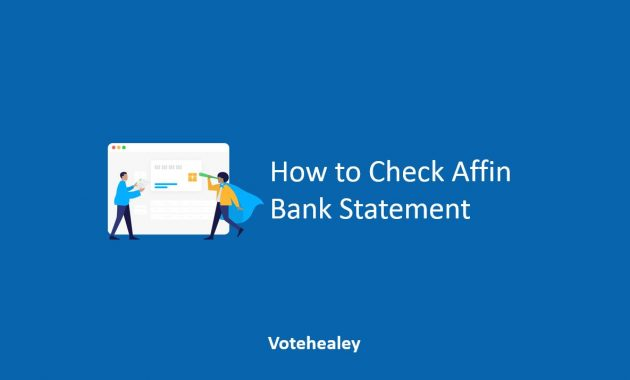 How to Check Affin Bank Statement