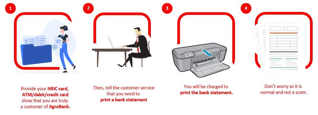 How to Check AgroBank Account Balance via Branch
