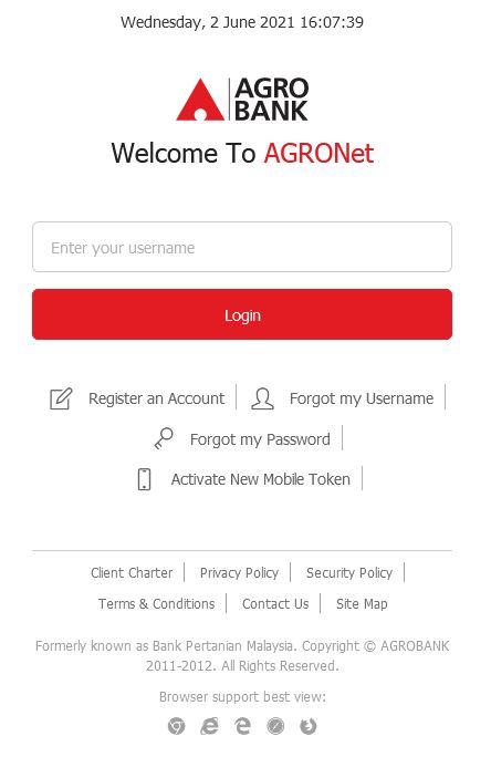 How to Check AgroBank Account Balance via Internet Banking