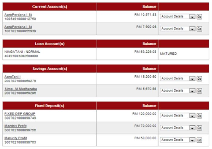 How to Check AgroBank Bank Statement via AgroNet Online Payee