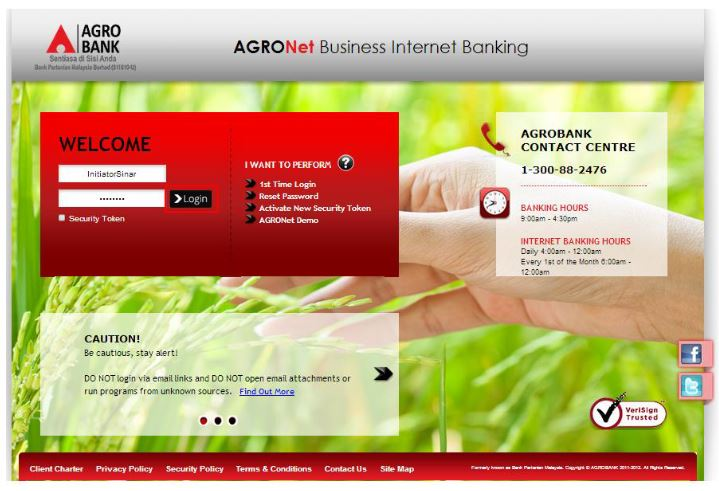 How to Check AgroBank Bank Statement via AgroNet Online