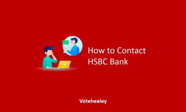 How to Contact HSBC Bank