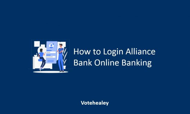 How to Login Alliance Bank Online Banking