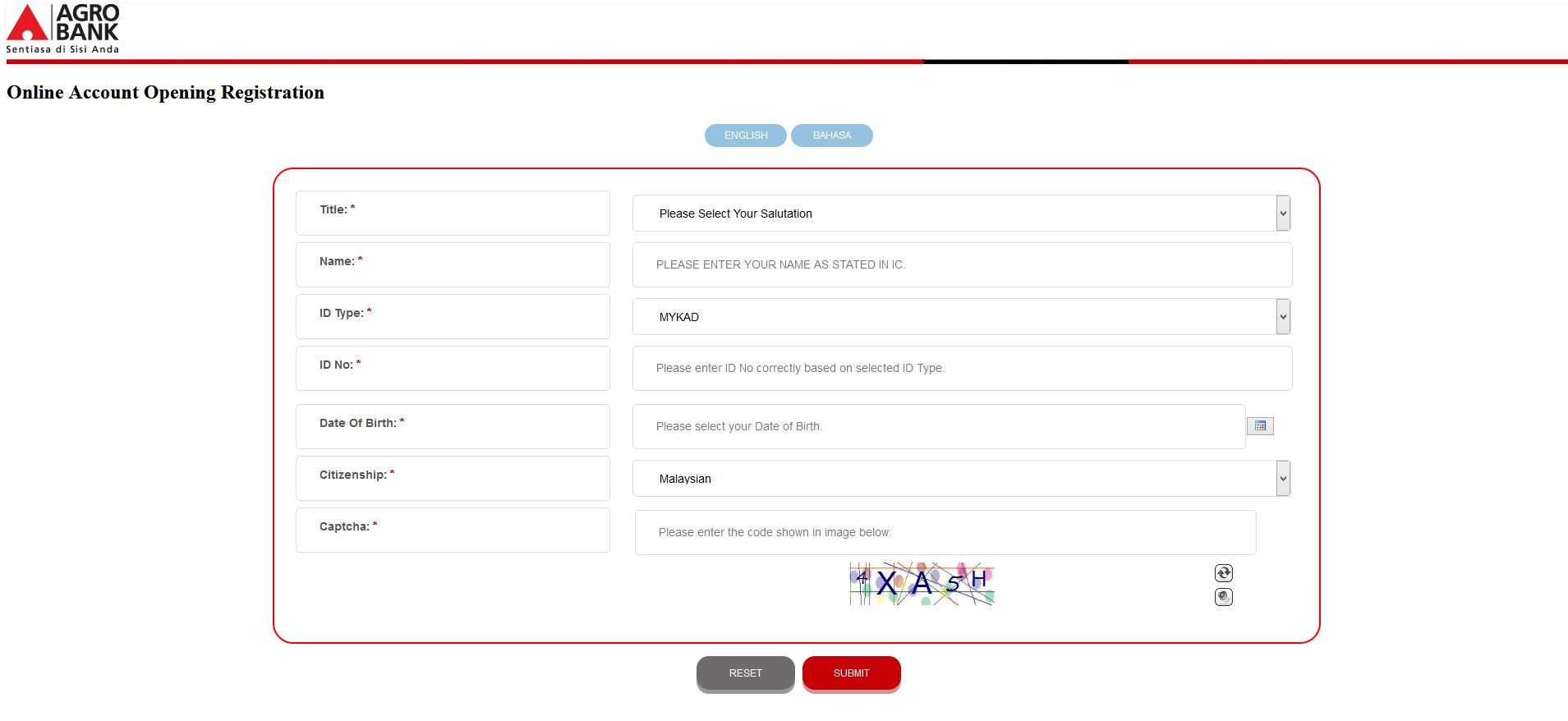 How to Open AgroBank Account using Internet Banking Online