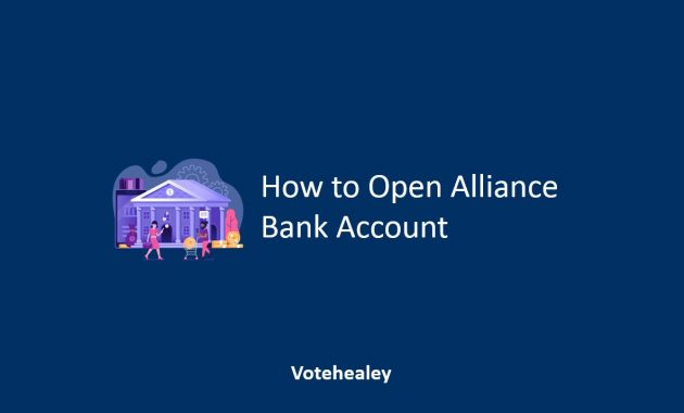 How to Open Alliance Bank Account