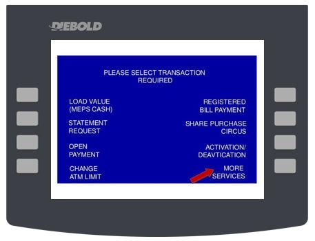 How to Pay Affin Bank Credit Card via ATM Transaction