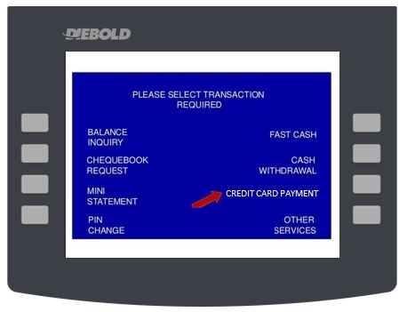 How to Pay Affin Bank Credit Cardvia ATMs Transaction