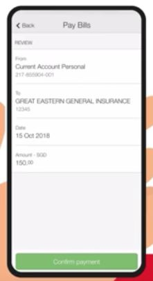 How to Pay OCBC Credit Card via Mobile Banking Application