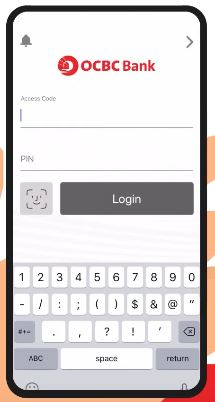 How to Pay OCBC Credit Card via Mobile Banking