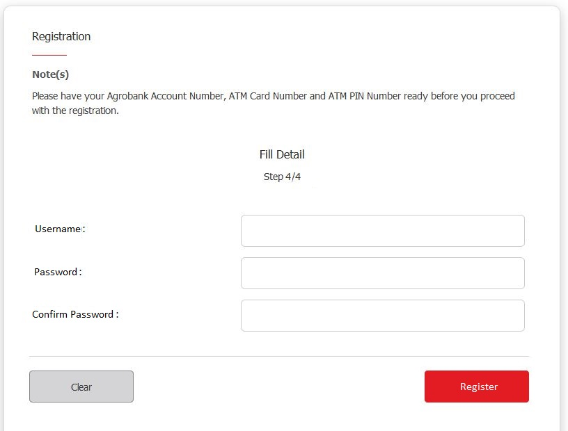 How to Register Agrobank Online Banking via Internet Banking Payments