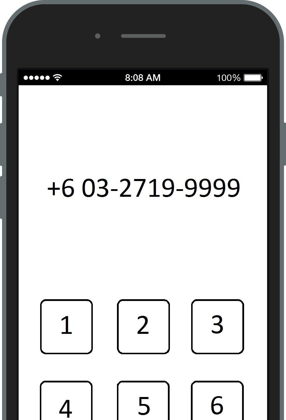 Terminating Credit Card via Phone Dial
